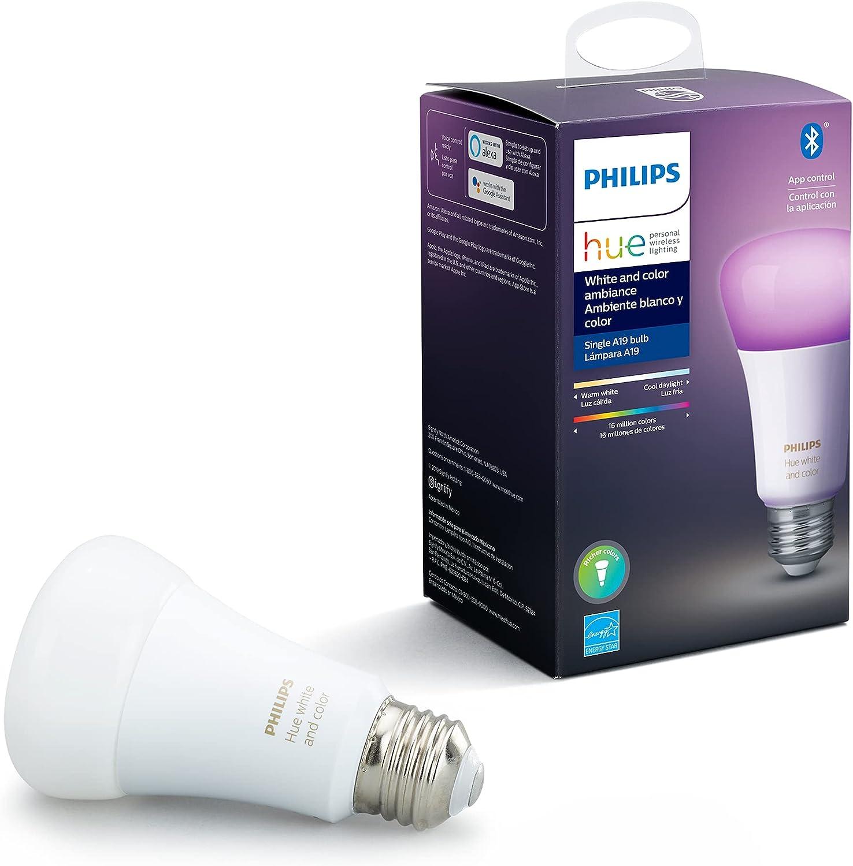 Philips Hue 548487 Smart Light Bulb