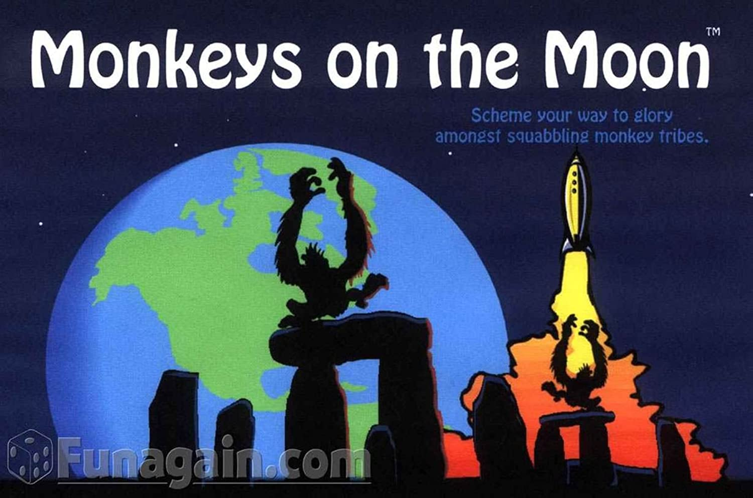 Monkeys on the Moon (dt. Spielregeln)