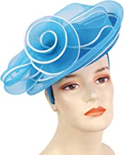 Ms Divine Collections Womens Satin Year-Round Dress Church Hats Derby Hats #HL83