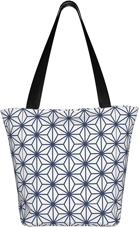 Large Tote Bag Canvas Hobo Bag Daily Work Shoulder Handbag Best Gifts for Women (Music Note Instrument Guitar Retro Skull)
