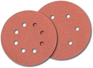 PORTER-CABLE 736001225 6-Inch Hook and Loop Aluminum Oxide No Hole 120G Disc 25-Pack