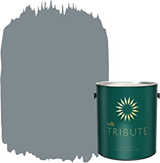 KILZ TRIBUTE Interior Matte Paint and Primer in One, 1 Gallon, December Nights (TB-36)