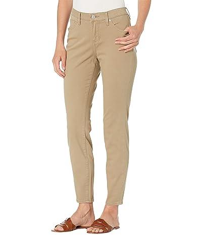 Jag Jeans Cecilia Best Kept Secret Brushed Twill Skinny Pants (Chinchilla