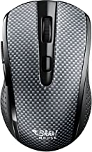 Silent Portable Wireless Shhhmouse i440 – Mouse with USB Receiver – Multi-Surface Operations – 3 DPI Levels of Sensitivity...
