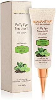 Puffy Eye Treatment Instant results – Naturally Eliminate Wrinkles, Puffiness, Dark Circle and Bags in Minutes – Hydrating...