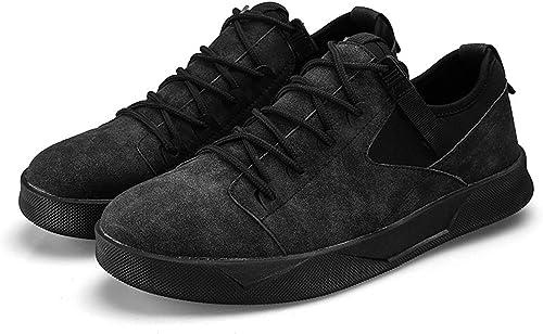 QLVY Chaussures pour Hommes Sport Chaussures Décontractées Course Fitness en Plein air Confortable Et Léger Noir 41