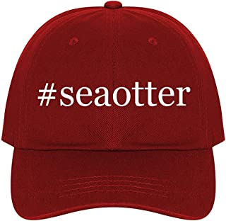 The Town Butler #Seaotter - A Nice Comfortable Adjustable Hashtag Dad Hat Cap