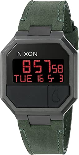 Nixon Re-Run Leather