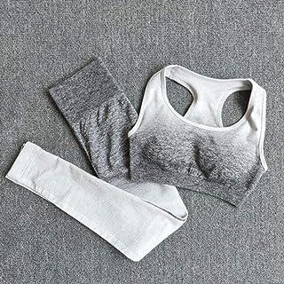 Yoga Set Sports Bra and Leggings Women Gym Set Clothes Seamless Workout Fitness Sportswear Fitness Sports Suit Sportswear