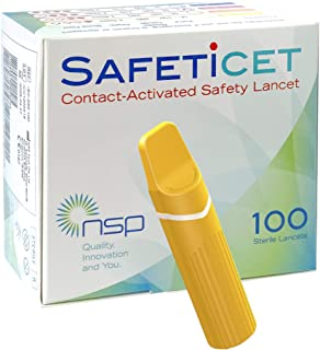 Sponsored Ad - Contact-Activated Safety Lancet Orange 100 Units.