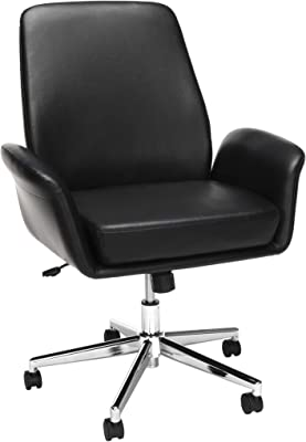Grey Rimiking Home Office Chair Upholstered Desk Chair With Arms For Conference Room Or Office Home Office Desk Chairs Furniture Home Kitchen Furniture