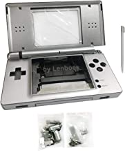 lenboes Replacement Full Housing Shell Case Kit Repair Parts for Nintendo DS Lite NDSL - Silver