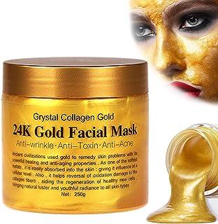 Sinicyder Mitesser Maske,Gold Facial Mask,Blackhead Remover Maske, Minimiert Poren, Reduziert Falten und Schenkt Einen Strahlenden Teint,250g