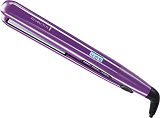 "Remington 1"" Flat Iron with Anti-Static Technology and Digital Controls, Hair Straightener, Purple, S5500"