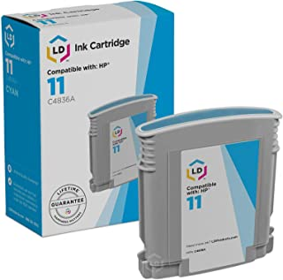 LD Remanufactured Ink Cartridge Replacement for HP 11 C4836A (Cyan)