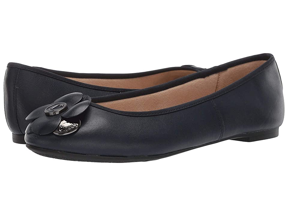 e4c8795ec Circus by Sam Edelman Cecilia (Elegant Navy Sheep Leather) Women's Flat  Shoes