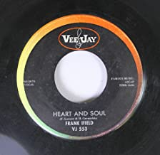 Frank Ifield 45 RPM Heart and Soul / I'm Confessin' (That I Love You)