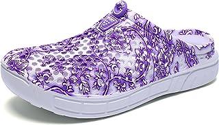 Eagsouni Unisex Men Women Garden Clogs Shoes Casual Slippers Summer Quick Drying Anti-Slip Beach Walking Sandals
