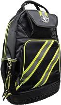 Küçük 55597kat-PRO yansıtıcı yüksek görünürlük sırt çantası, siyah/gri/yeşil Akzente