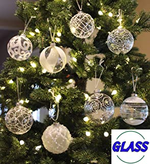 Best clear colored glass balls Reviews