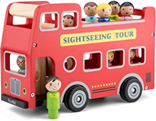 City Tour Bus with 9 Play Figures