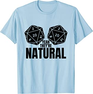 Best yeah they re natural d20 shirt Reviews
