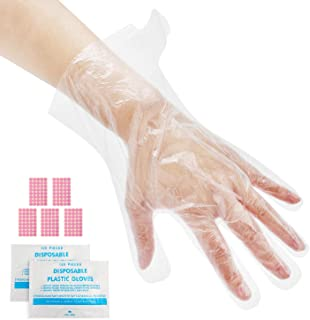 200pcs Paraffin Bath Liners for Hand, Segbeauty Pro Cozies Plastic Bags with 200 Stickers, Therabath Glove Mitt Liner Covers for Wax Therapy Treatment w/o Wax Messes, Great for Paraffin Wax Machine