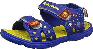 Bubblegummers Boy's Galaxy Yellow Indian Shoes-9 Kids UK/India (27 EU) (1618534)
