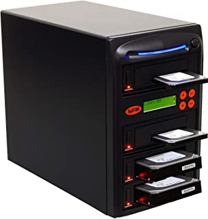 """SySTOR 1 to 3 SATA 600MB/s HDD SSD Duplicator/Sanitizer - 3.5"""" & 2.5"""" Hard Disk Drive Solid State Drive Dual Port Hot Swap (SYS603DP)"""