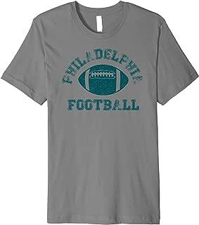 Philadelphia Distressed Pro Football Team T-Shirt Mens Women