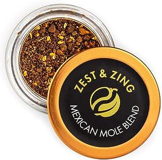 Zest & Zing Mezcla De Mole Mexicano (Gruesa), Tarro De Especias De 30 G: Mezclas Premium De Zest & Zing. Tarros De Especia...