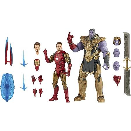 Marvel Hasbro Legends Series - Iron Man Mark 85 y Thanos de 15 cm