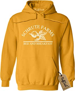 975bba3419d4 NuffSaid Schrute Farms Beets Bed and Breakfast Hooded Sweatshirt Sweater  Pullover - Unisex Hoodie