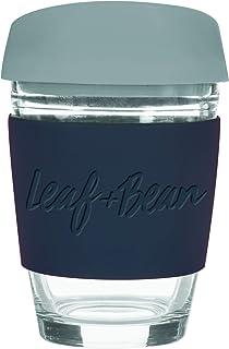 LEAF & BEAN Sorrento Glass Travel Mug, Multi, DLE0049BK