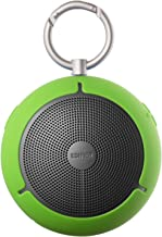 Edifier MP100 Portable Bluetooth Speaker - Wireless Splash/Dust Proof Boombox with microSD Card for Hiking Camping and Outdoors Activities - Green