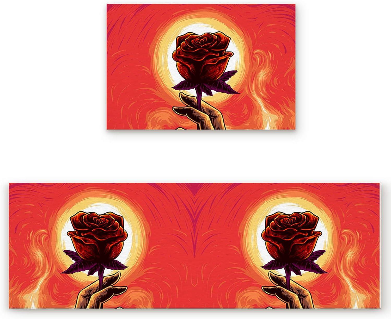 GreaBen Valentine's Day San Francisco Mall Direct sale of manufacturer Rose Comfort F Hand-Drawing Illustration