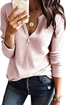 Best waffle knit top womens Reviews