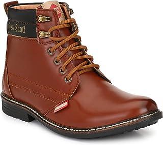 Andrew Scott Men's Brown Sneakers- 6 UK (40 EU) (7 US) (1201BROWN)