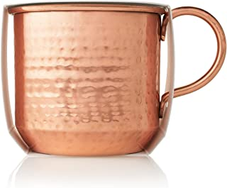 Thymes — Simmered Cider Mug Candle — Reusable Copper Cup