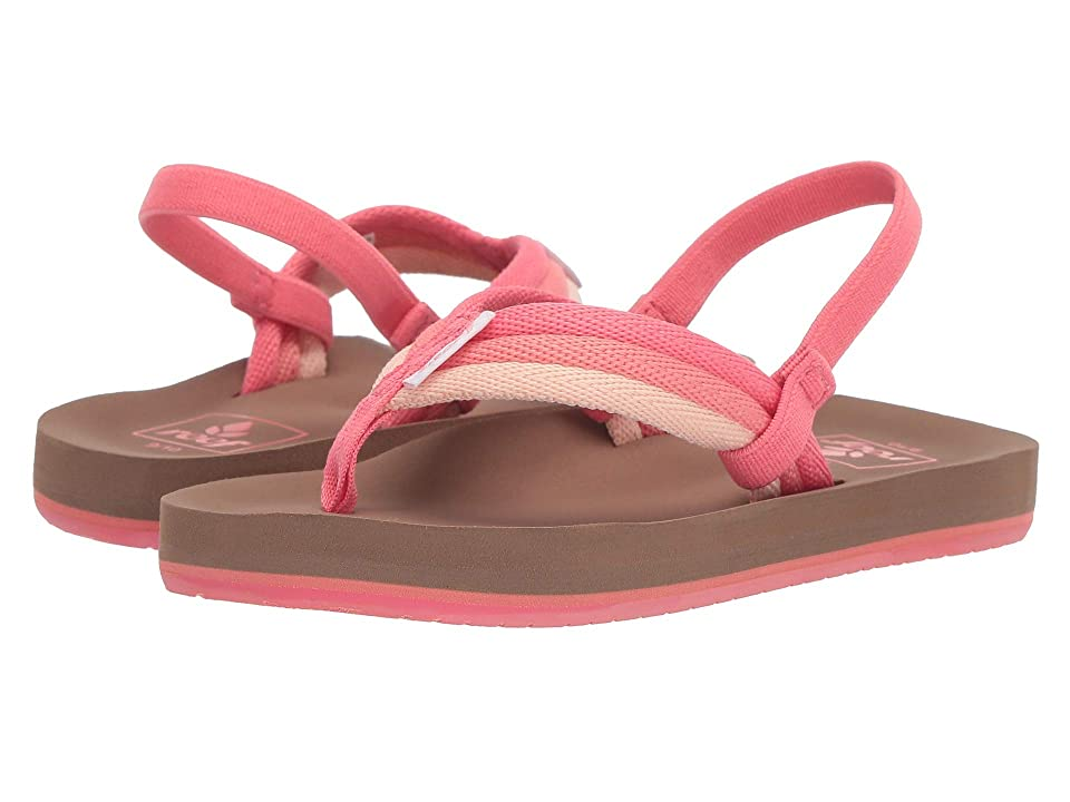 Reef Kids Little Ahi Beach (Infant/Toddler/Little Kid) (Raspberry) Girl