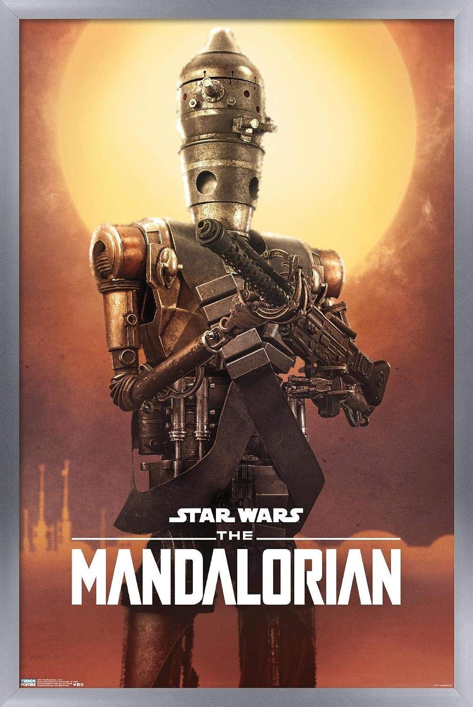 Trends International Star Washington Mall Wars: The Poste Wall Ranking TOP4 Mandalorian-IG-11