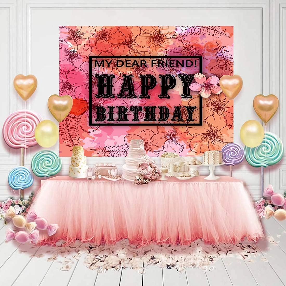 TCross Happy Birthday Theme National products Photo New life Backdrops Backdrop for G