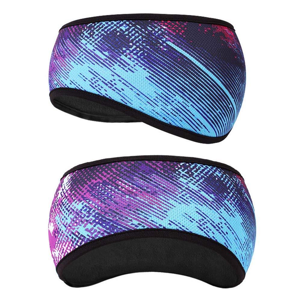 Lanmino,Ear Muffs Headband, Headscarf Women Girls Hair Sweat Fleece Ear Cover Ear Warmer Winter Sweatband Running(17)