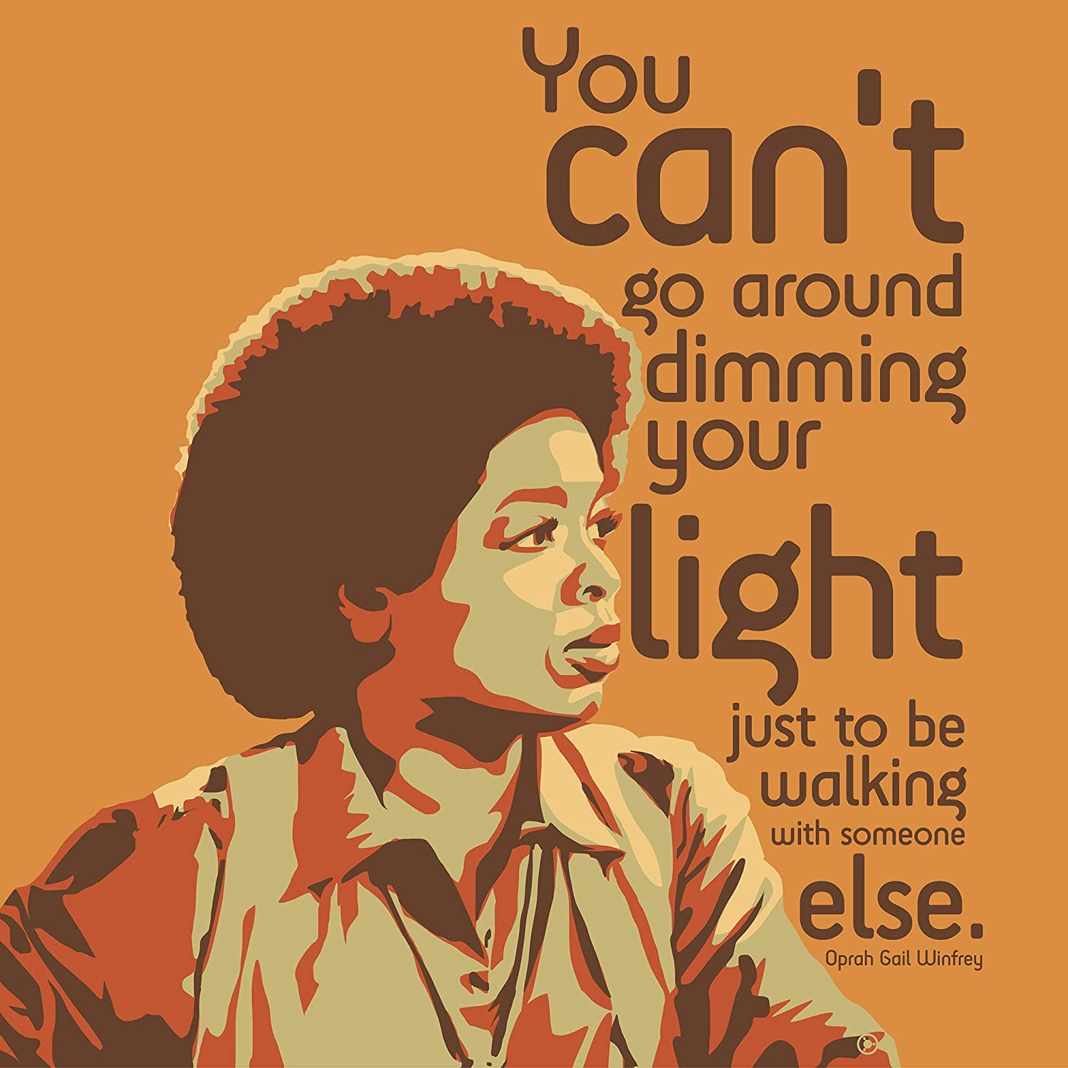 Oprah Winfrey Print Canvas Lowest price challenge All stores are sold