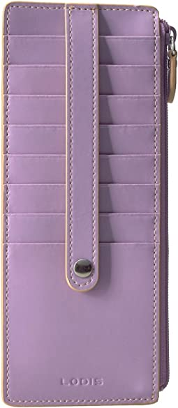 Lodis Accessories Audrey RFID Card Case With Zip Pocket