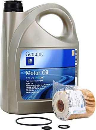 KIT FILTRO ACEITE MOTOR GM General Motor OPEL Oil 5w30 5 Litros (OPEL ASTRA G