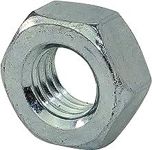 AERZETIX - 10 stuks Moer met linkse draad - M10 - Verzinkst staal - DIN 934 - C45731