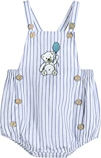 Baby & Toddler Boys Classic Embroidered One Piece Bubble Romper