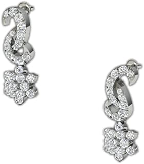 997b10873 Kirtilals Glow and Go Collection 18k Yellow Gold and Diamond Stud Earrings