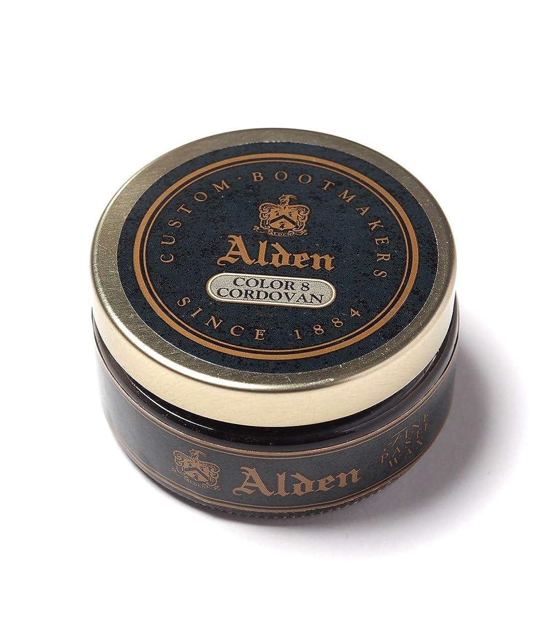 フェードアウト分子食物(オールデン) ALDEN FINE PASTE WAX - #8 DARK BURGUNDY CORDOVAN ファインペーストワックス 【並行輸入品】